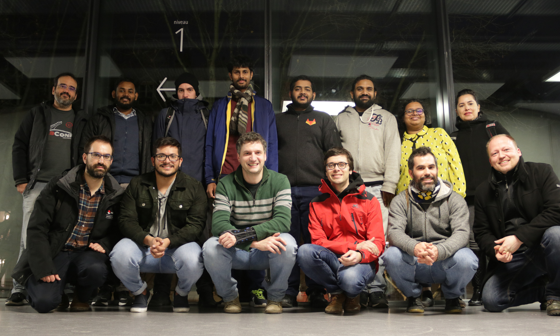 Group photo of the attendees of the Ruby Team Sprint 2020 in Paris